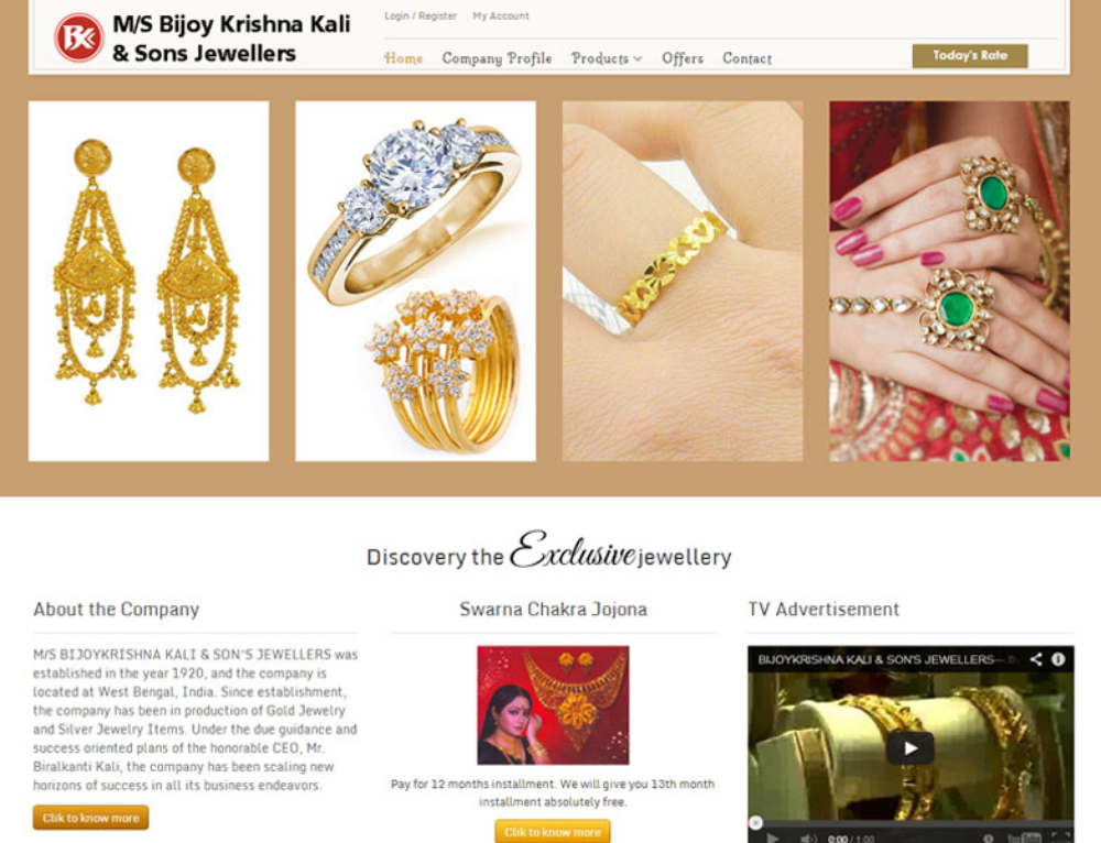 Bijoy Krishna Kali & Sons Jewellers
